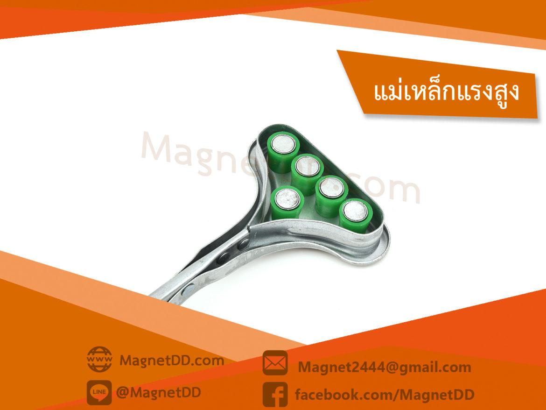 อุปกรณ์จับยกหัวแม่เหล็ก แบบ 5หัว Magnetic Punch Protector