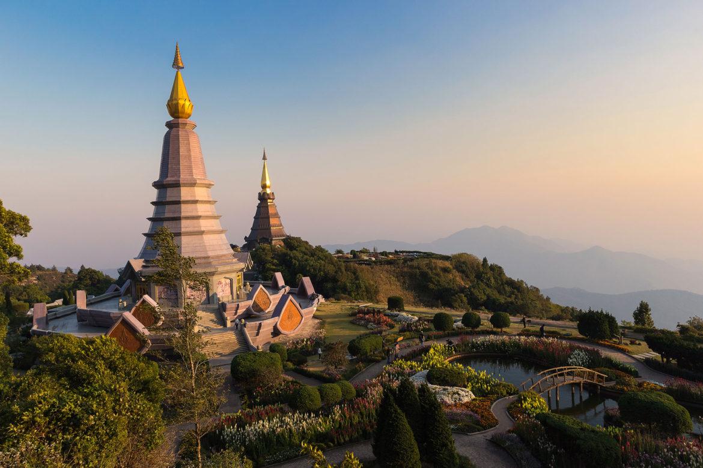 ดอยอินทนนท์ ท่องเที่ยว อุทยานแห่งชาติ สถานที่ท่องเที่ยว เชียงใหม่ Doi inthanon Chiang Mai, Thailand